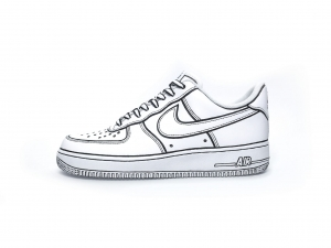 Nike Air Force 1 Cartoon Custom