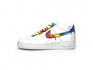 Nike Air Force 1 Rainbow Custom