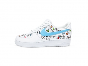 Nike Air Force 1 Chemistry Custom