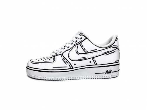 NIKE AIR FORCE 1 CARTOON CUSTOM V2