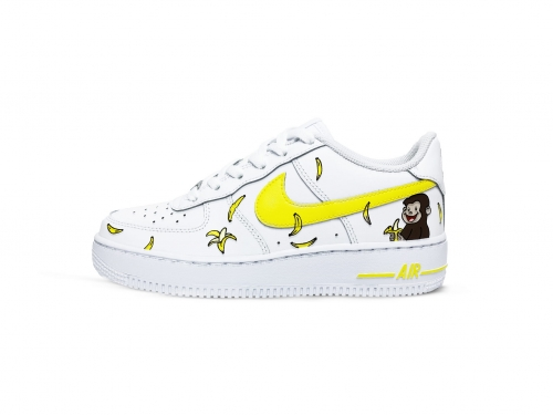 Nike Air Force 1 Banana Custom